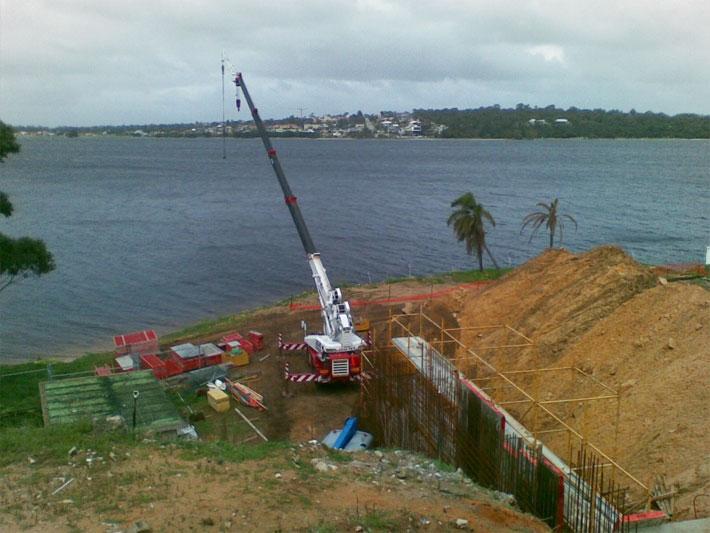 Lifting Building Supplies Photo 1