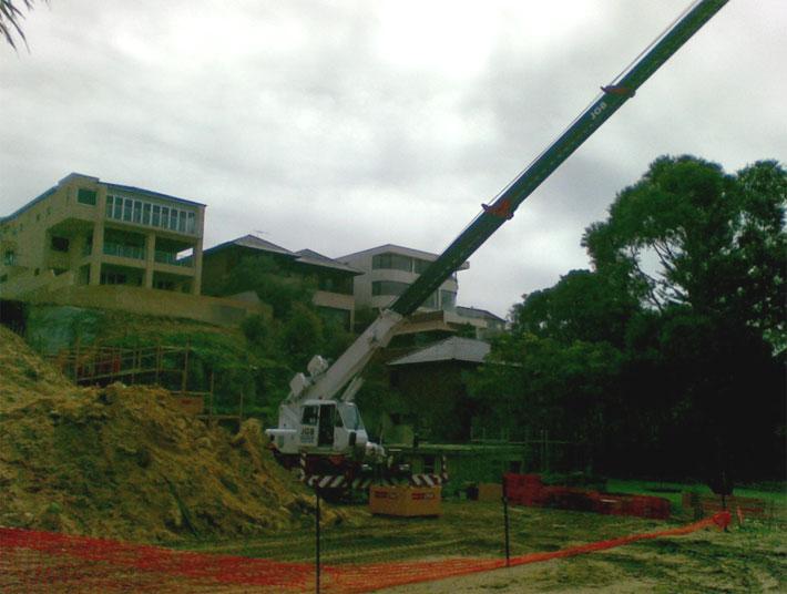 Lifting Building Supplies Photo 2