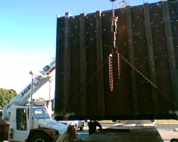 Lifting Fabricated Sections