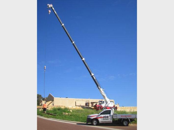 Tadano 16 Tonne Tom Thumb CraneJGB Cranes